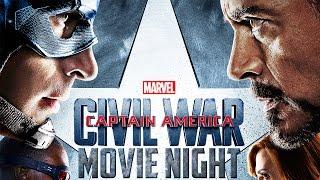 Captain America: Civil War | Movie Night