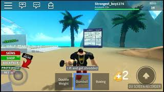 My First Time rebirthing[Roblox boxing simulator 2