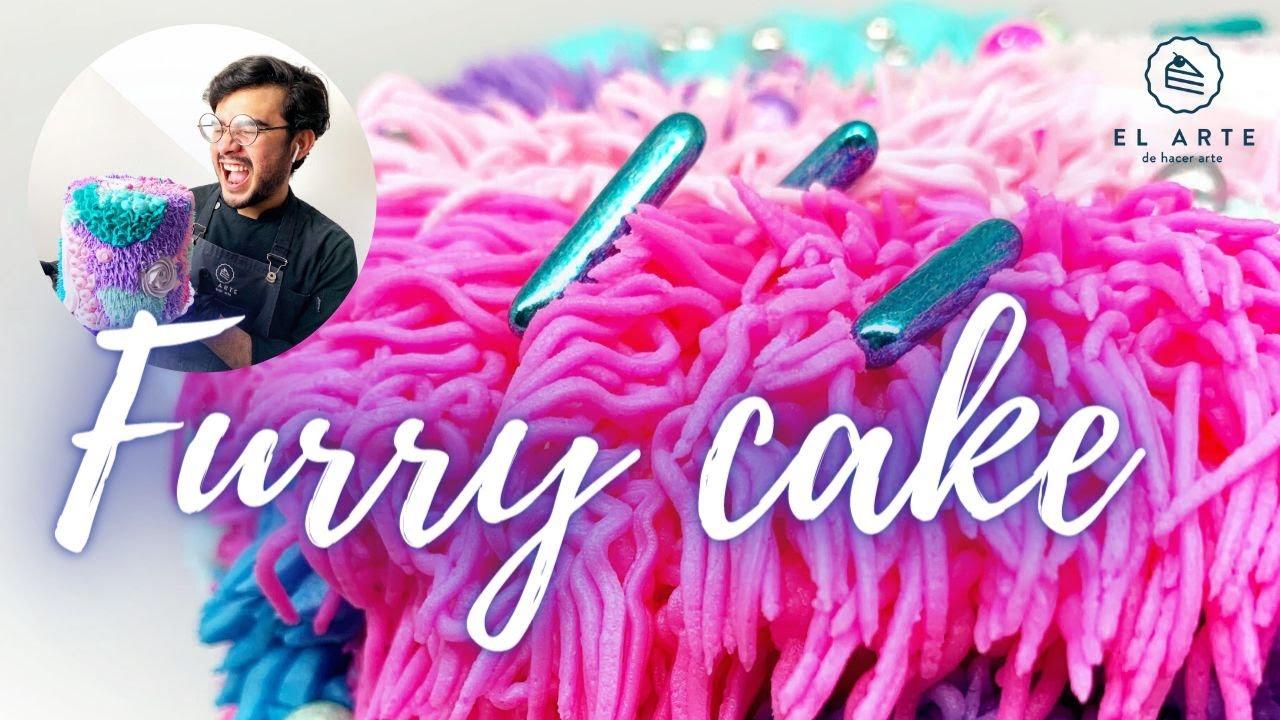 Furry Cake / Pastel de peluche