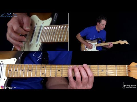 Hallowed Be Thy Name Guitar Lesson - Iron Maiden