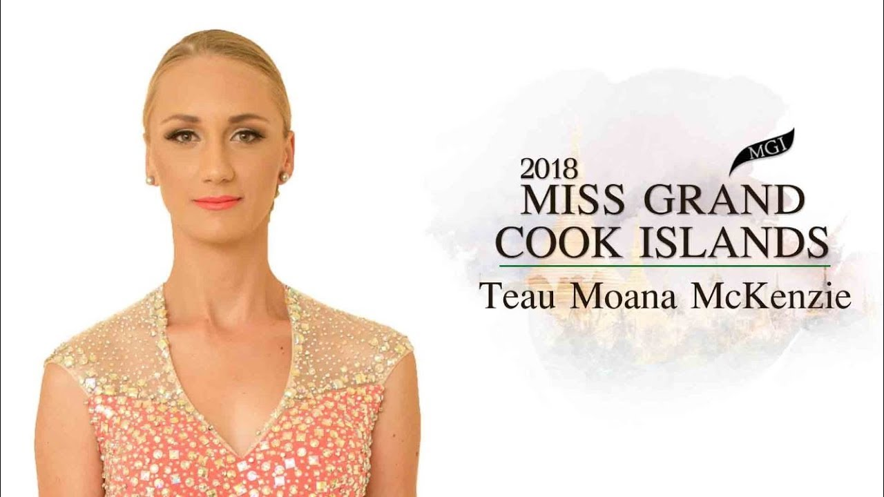 Miss Grand Cook Islands 2018