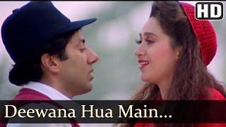Deewana Hua Main Deewana - Ajay Songs - Kumar Sanu - Alka Yagnik - Romantic Song