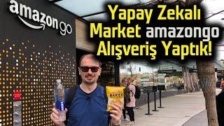 Yapay Zekalı Marketten alış veriş