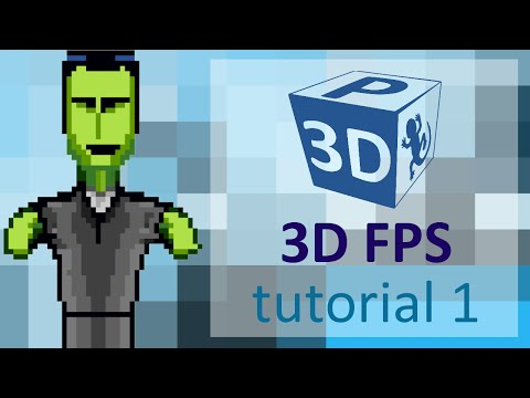 Let's make a 3D FPS in Clickteam Fusion with P3D - part 1