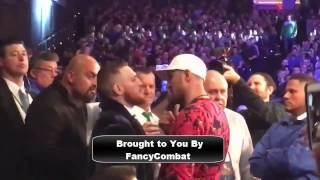 Conor McGregor Has Words with Sergey Kovalev says i Run Boxing