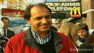Daniel Scioli sobre las privatizaciones y la convertibilidad (1997)
