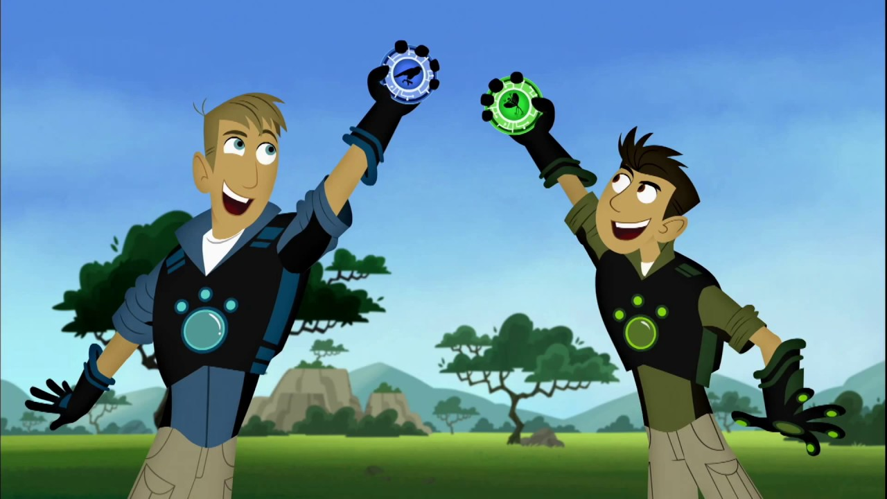 Wild Kratts Theme Song Instrumental With Visuals Youtube