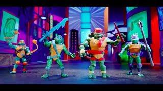 Ninja Kaplumbağalar Kötülerle Mücadeleye Hazır!