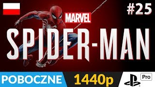 SPIDER-MAN PL (PS4) ???? LIVE ???? Wyzwania i aktywności poboczne w kierunku 100% :) - Na żywo