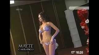 Mayte Carranco sin sus mini vestidos Hot