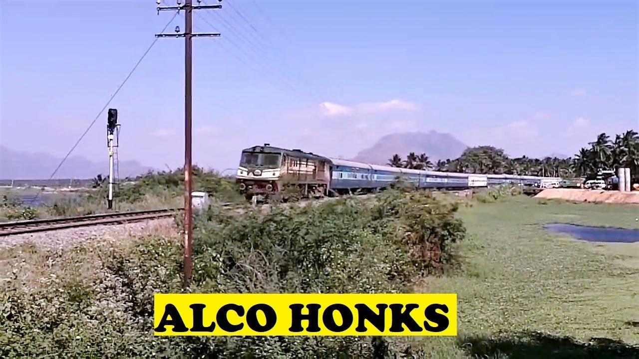 ALCO Kanyakumari Jammu Himsagar Honks Nagercoil