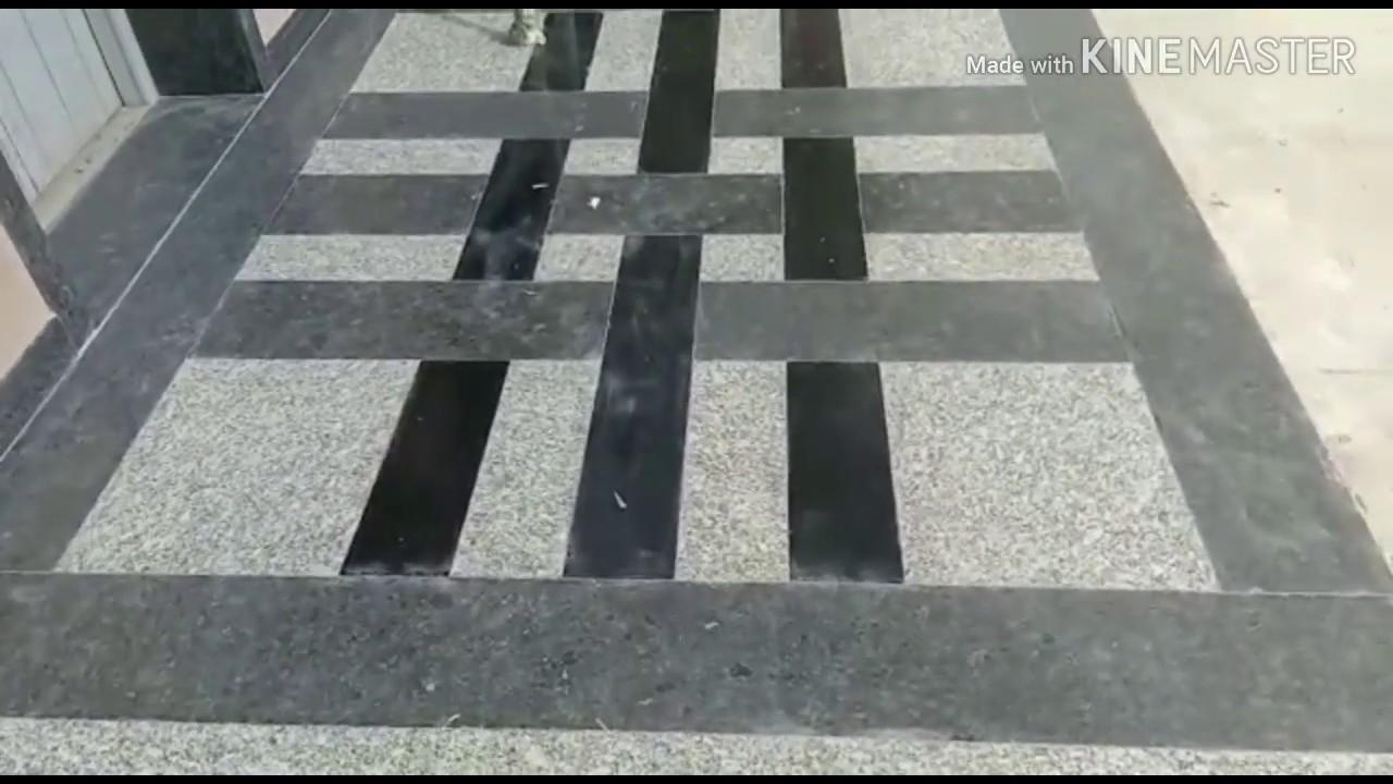Indian Granite Flooring Design   Granite Lift Frame Design   Granite  Flooring Design India - YouTube