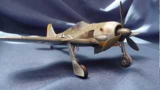 Hasegawa Focke-Wulf Fw 190 A-3 in 1/48 scale