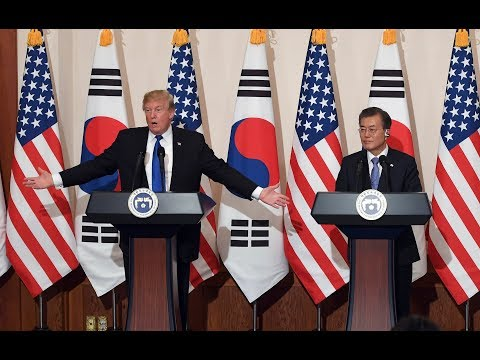 BREAKING: President Donald Trump URGENTJoint Press Conference with South Korean President Moon