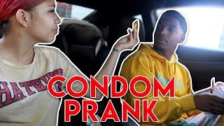 SHE FOUND A RUBBER IN MY CAR PRANK !!! (WE BROKE UP)