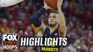 Marquette vs Wisconsin | Highlights | FOX COLLEGE HOOPS
