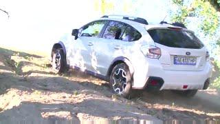 Как оторвать бампер Subaru XV. Видео 18+)