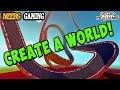 Scrap Mechanic - Create A World!  (and racetracks)
