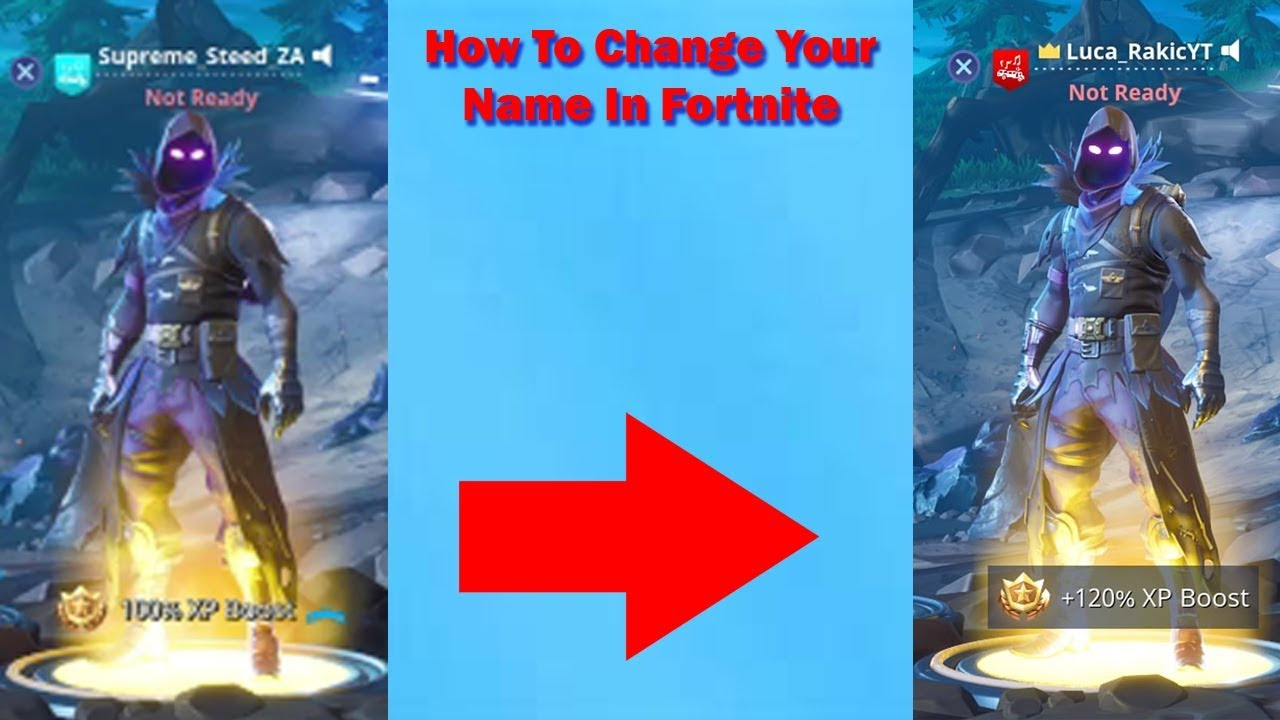 How To Change Your Name In Fortnite - 2018 - Season 4 ...