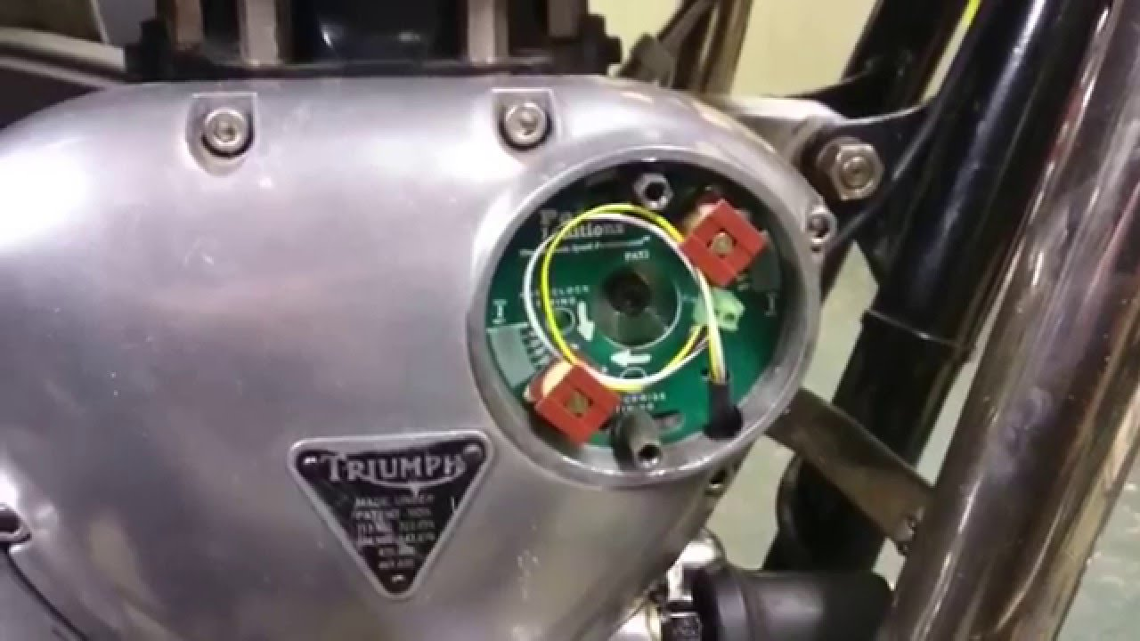 3 Wire Switch Wiring Diagram Triumph Bonneville With Pazon Ignition Youtube