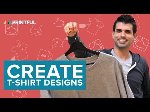 How To Create Print-on-Demand T-Shirt Designs In Printful's Mockup Generator