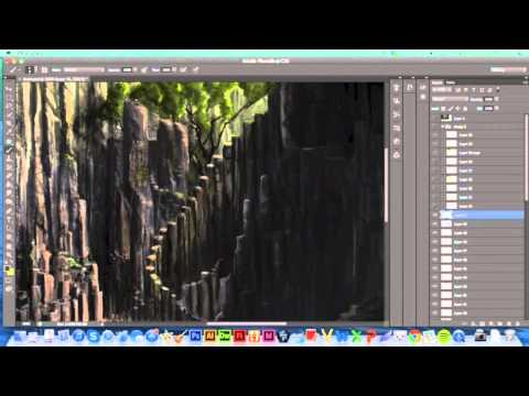 Waterfall Basin Landscape Painting Tutorial – Solfour
