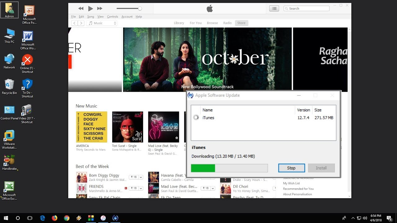 iTunes update in Windows 10 problem and S… - Apple Community