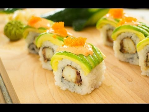 Snow Crab Sushi Roll Recipe