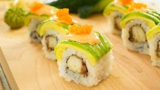 Snow Crab Sushi Roll Recipe