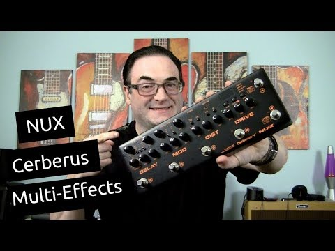 NUX Cerberus Demo & Review | Killer All-In-One Multi Effects Pedal