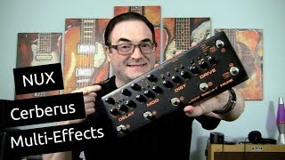 NUX Cerberus Demo & Review   Killer All-In-One Multi Effects Pedal