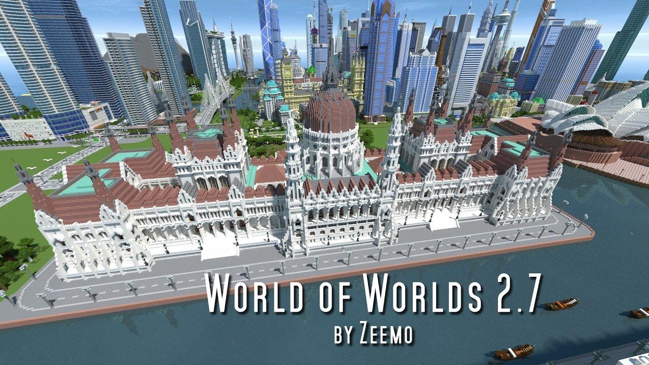 Minecraft World of Worlds 27 YouTube