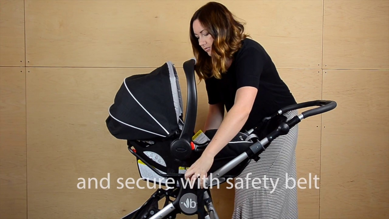 Bugaboo Adapter Graco Car Seat How To Install A Graco Snugride Click Connect Or Chicco Keyfit 30 Infant Seat To Your Bumbleride