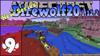 Direwolf20 1.12.2 - Modded Minecraft - Episode 9 - Unlimited Lava Power!! (NEW SERIES!!)