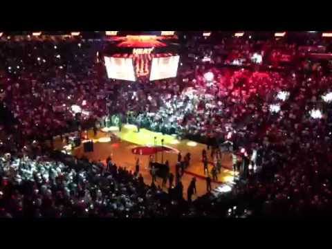 First 2013 Miami Heat player introduction