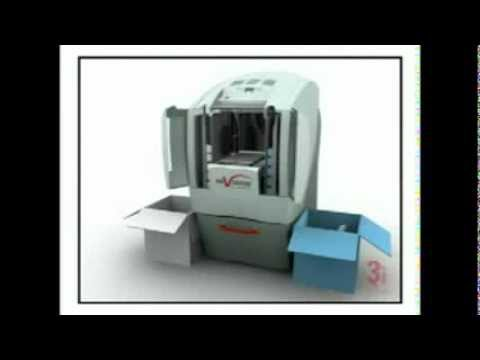 3D Systems Invision 3D Printer - YouTube