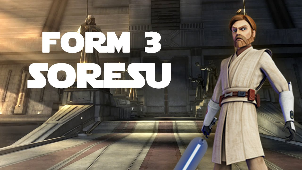 Soresu (Form 3 Lightsaber Combat) - YouTube