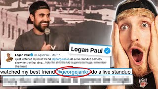 Logan Paul Did This While I Was Performing... *Emotional*