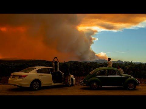Incendies en Californie : plus de 500 feux de forêt, une situation hors de contrôle