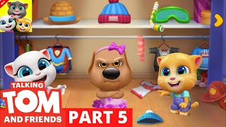 🔴 TALKING TOM AND FRIENDS | TALKING TOM AND FRIENDS GAMEPLAY | PART 5