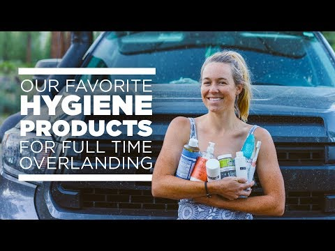 Hygiene Products For Overlanding