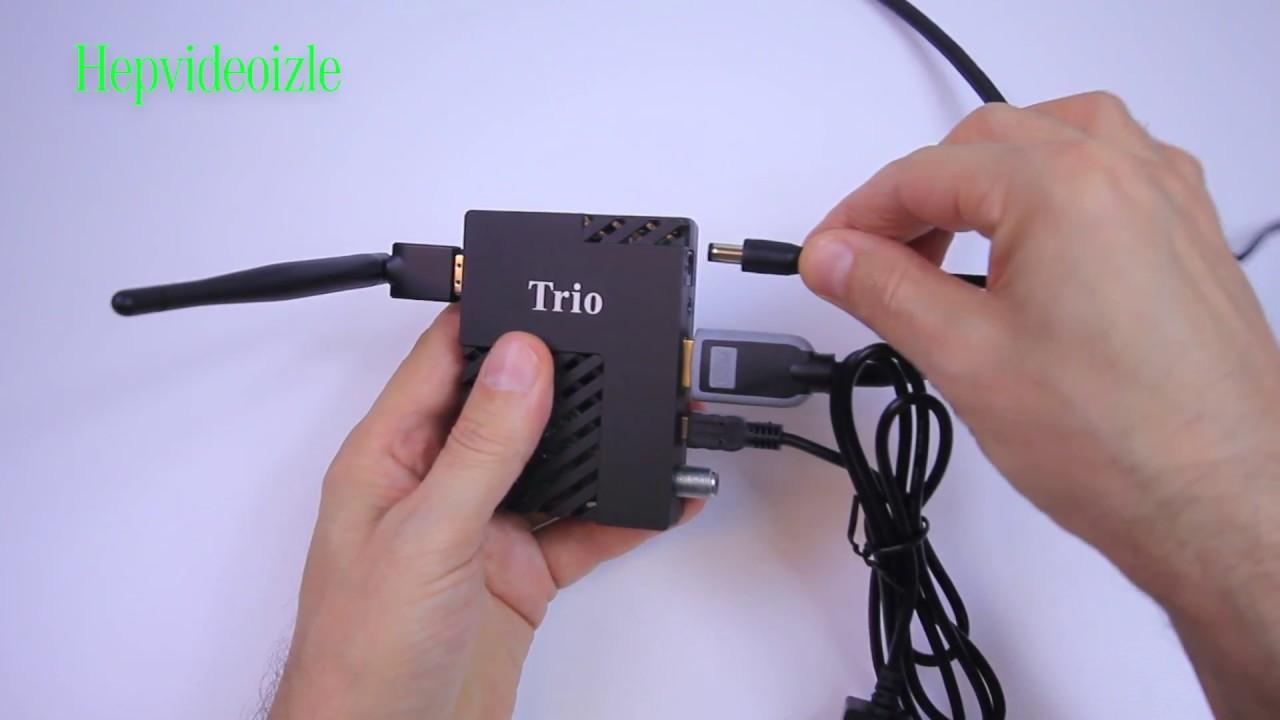 Trio Ip Uydu Alıcı Kurulumu Ve Kullanımı Youtube