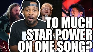[ REACTION ] Ed Sheeran - BLOW (with Chris Stapleton & Bruno Mars) [Official Lyric Video]‼