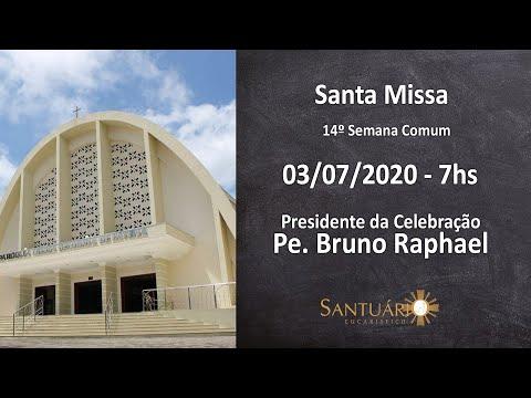 Santa Missa - 03/07/2020 - 7hs - Pe. Sérgio