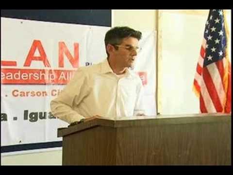 Tino Camarena speaks at PLAN Press Conference