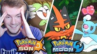 Pokemon Sun & Pokemon Moon - SUN AND MOON DEMO, STARTER EVOLUTIONS AND MEGAS! - REACTION & THOUGHTS!