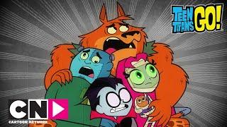 Młodzi Tytani: Akcja! | Prawdziwe potwory | Cartoon Network