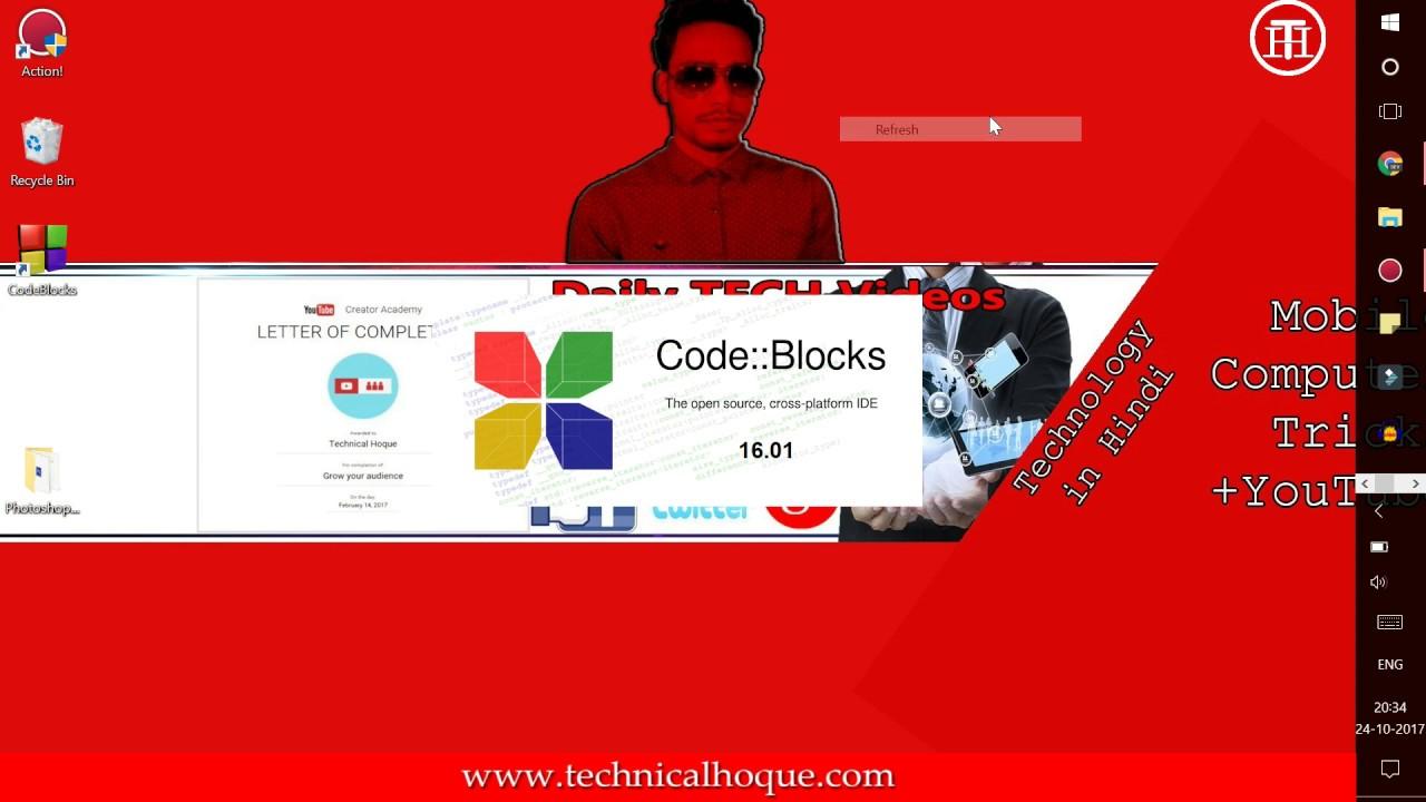 CODE BLOCKS 8.02 AVEC COMPILATEUR