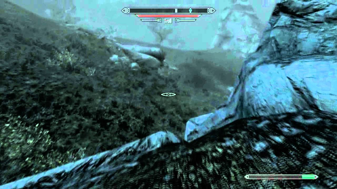 how to play melee in skyrim