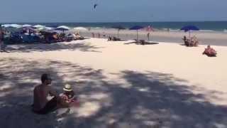 Хуа Хин пляжи с белым песком(Хуа Хин пляжи с белым песком и серым песком в несколько километров вдоль всего курорта Таиланда. www.welcomehuahin.co..., 2015-02-24T10:39:39.000Z)